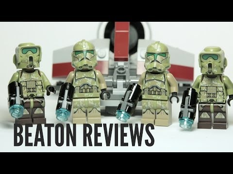 LEGO Star Wars Kashyyyk Troopers Set 75035 Review