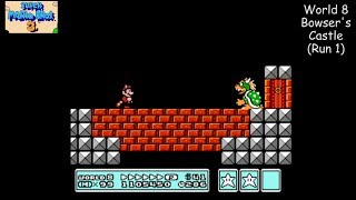 Super Mario Bros. 3 [NES] Playthrough #08, World 8: Dark Land