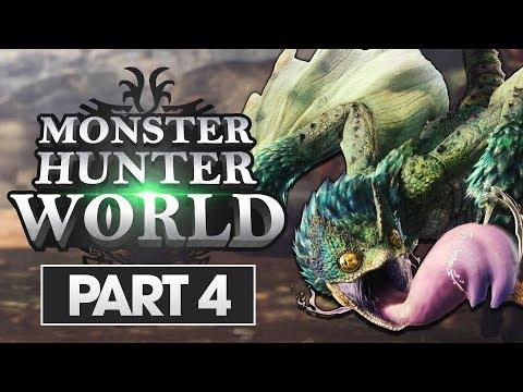 Monster Hunter World Walkthrough Part 4: PukeiPukei