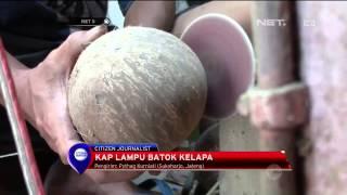 Lampu hias dari limbah Batok Kelapa - NET5