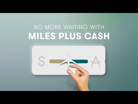 Miles or cash? Enjoy the flexibility of both