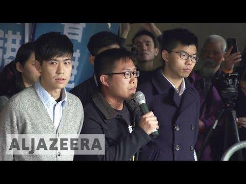 Hong Kong activists jailed over 2014 'Umbrella' protests