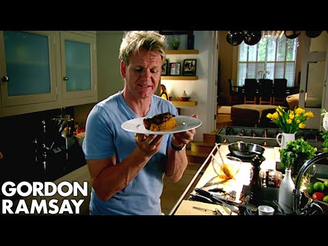Spiced Pork Chop With Sweet Potato Mash - Gordon Ramsay