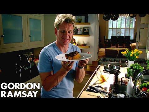 Spiced Pork Chop with Sweet Potato Mash - Gordon Ramsay
