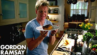 Repeat youtube video Spiced Pork Chop with Sweet Potato Mash - Gordon Ramsay