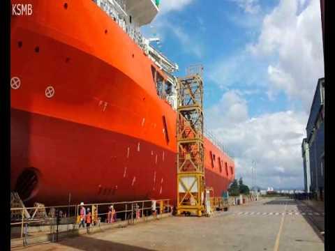 Launching GNL 1008 - Keppel singmarine Brasil
