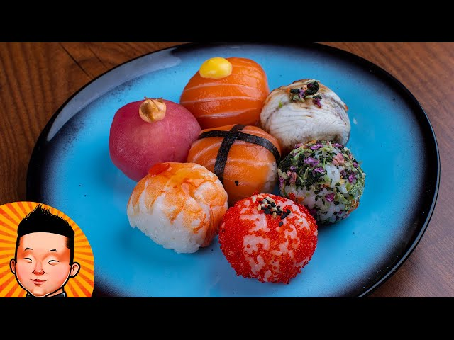 Рецепт Суши Темари | Temari sushi receip