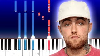 Mac Miller - Good News (Piano Tutorial)