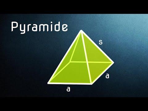 quadratische pyramide 4 aufgaben mit l sungen by a wendt. Black Bedroom Furniture Sets. Home Design Ideas