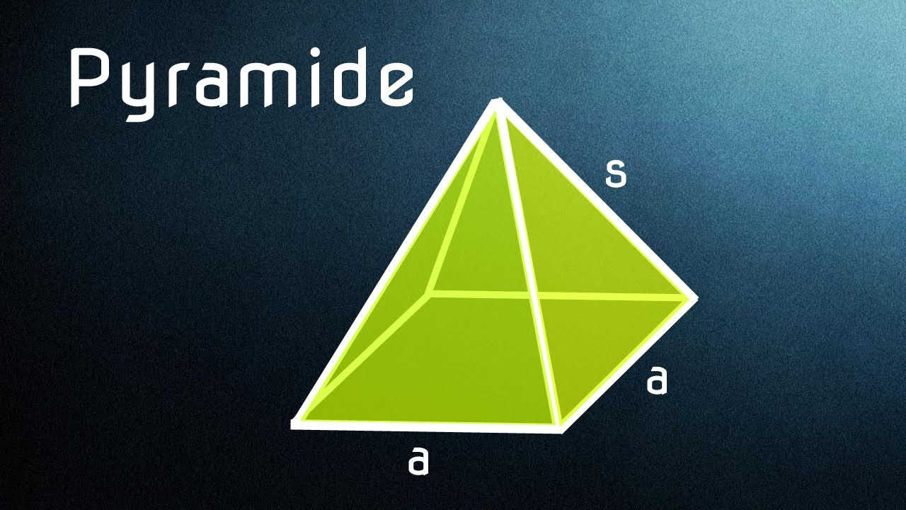 pyramide bestandteile herleitung formeln f r. Black Bedroom Furniture Sets. Home Design Ideas