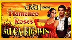MEGA BIG WIN| Ovo Casino- FLAMENCO ROSES auf 1,00€ und 2,00€
