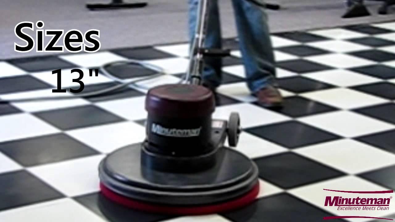 youtube powerboss watch floors scrubber sweeper and floor vacuum minuteman