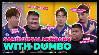 Samgyupsal Mukbang with Dumbo