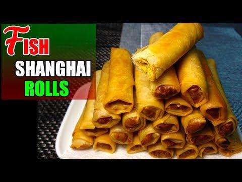 Fish Shanghai Rolls