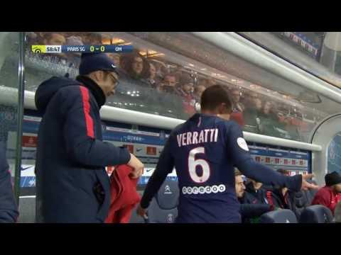 PSG: Emery lo sostituisce, Verratti si arrabbia