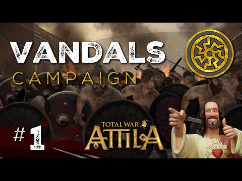 Let's Play Total War: Attila - Vandals Legendary - Part 1
