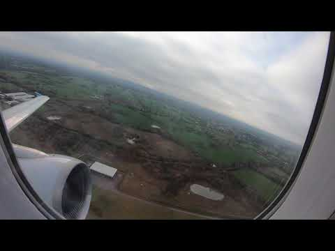 Taxi & Take-off From Manchester Airport, Greater Manchester, England - 20 March, 2019