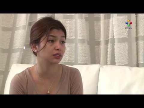 Finally Sasa show her face on PNN TV