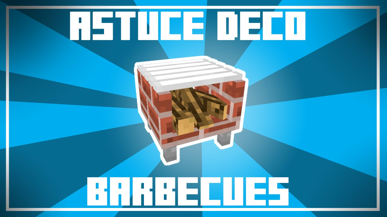Astuce Déco - 6 Designs de BARBECUES dans Minecraft ! - YouTube