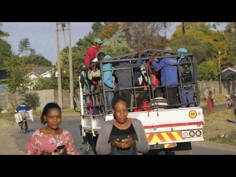 Zimbabwe returns to strict lockdown amid vaccine shortages