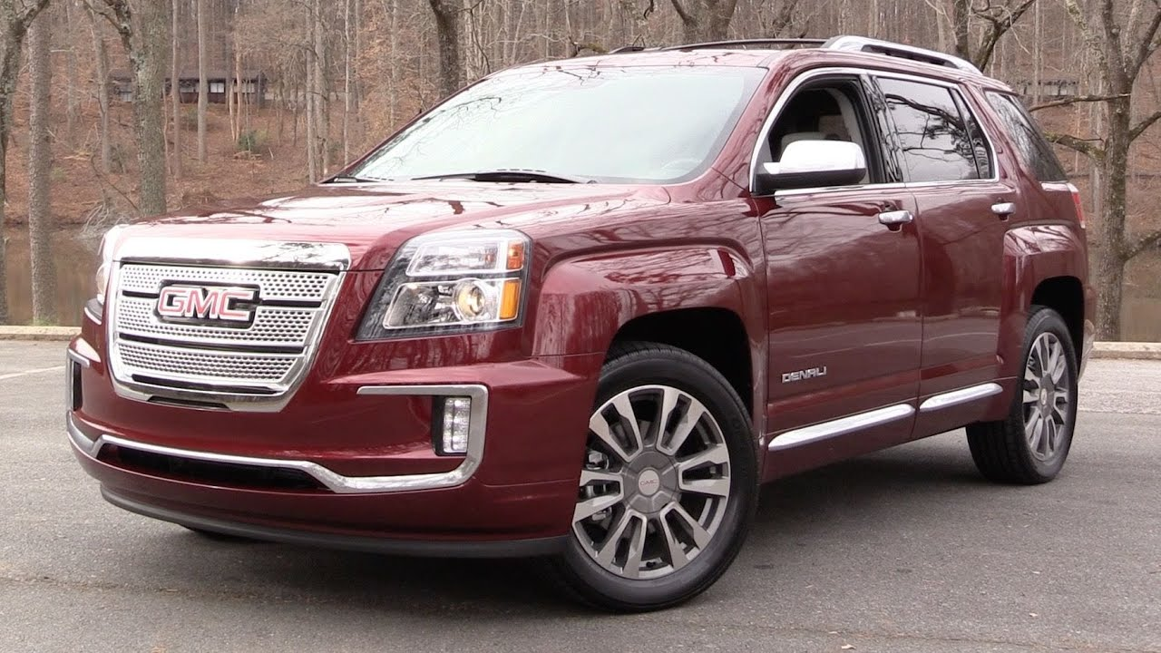 2016 Gmc Terrain Denali V6 Awd Start Up Road Test And In Depth Review You