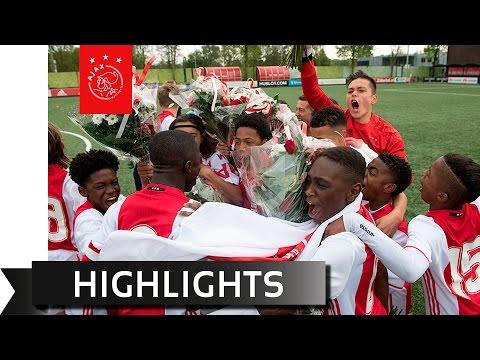 Highlights kampioenswedstrijd Ajax