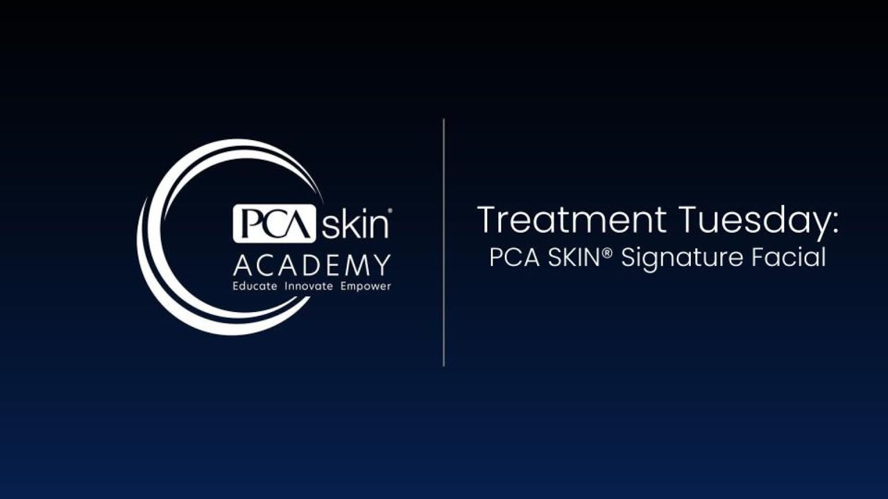 Click to open this video in a pop-up modal: Treatment Tuesday: Signature Facial