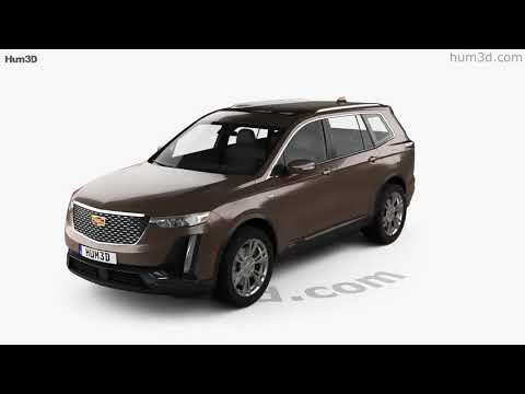 Cadillac XT6 Luxury 2020 3D model by Hum3D.com