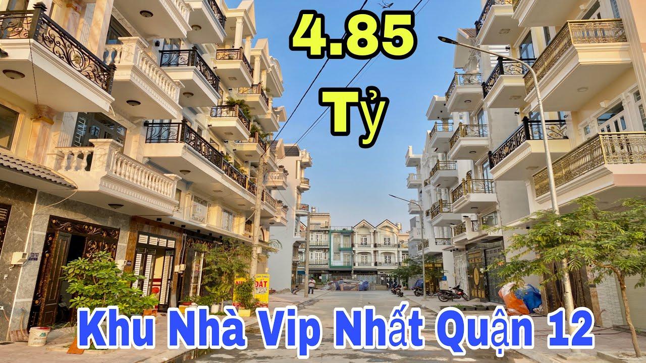 Bán nhà quận 12|Mở bán khu nhà đẹp đẳng cấp bậc nhất quận 12 tại đường Nguyễn Ảnh Thủlgiá rẻ 4.85 Tỷ