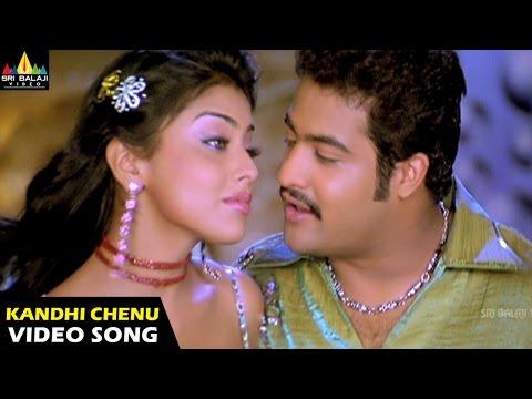 Naa Alludu Songs | Kandhi Chenu Kada Video Song | Jr.NTR, Shriya | Sri Balaji Video
