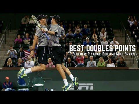 Tennis. Best Doubles #R.Federer #R.Nadal #Bryan Brothers