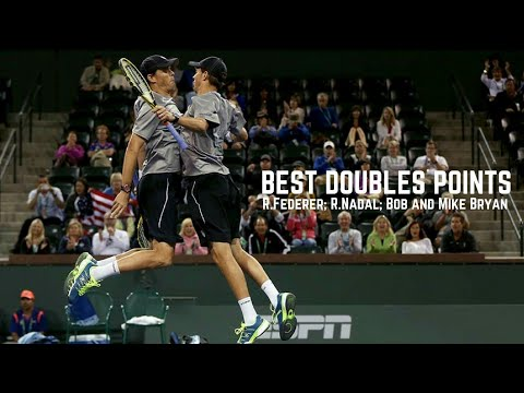 Tennis. Best Doubles #R.Federer #R.Nadal #Bryan Brothers