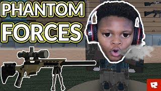 I'M GOING INSANE | Phantom Forces CTF Game Mode | ROBLOX