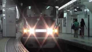 日本一過密ダイヤ 夕ラッシュ名鉄名古屋駅3番線 meitetsyu nagoya station