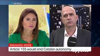 Carlos Silva (UPYD) desmonta internacionalmente las mentiras del independentismo