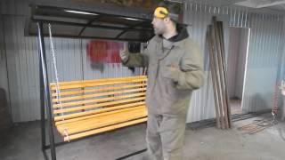 видео Металлические качели для дачи | Распродажа | Купить | Цены | Арно Arno Даметекс Редфорд Redford