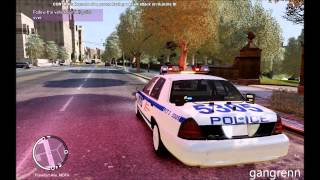 GTA4:EFLC - NYPD special patrol 1/3 (100% action)