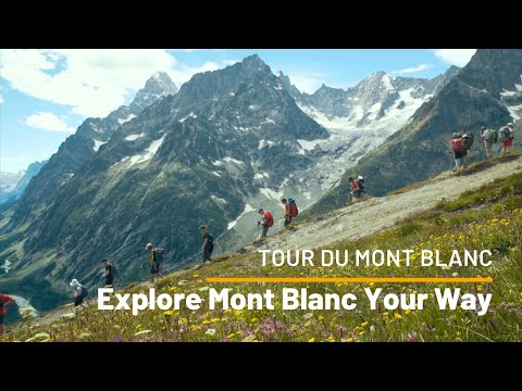 Mont Blanc Guided Walk with UTracks