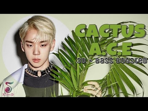 CACTUS (선인장) - A.C.E (에이스) [3D Audio + Bass Boosted]