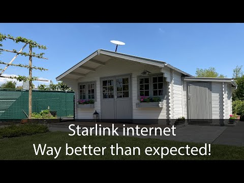 Starlink internet: first impressions are mind blowing!