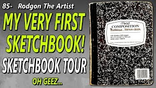 Very first sketchbook tour! - WOW!