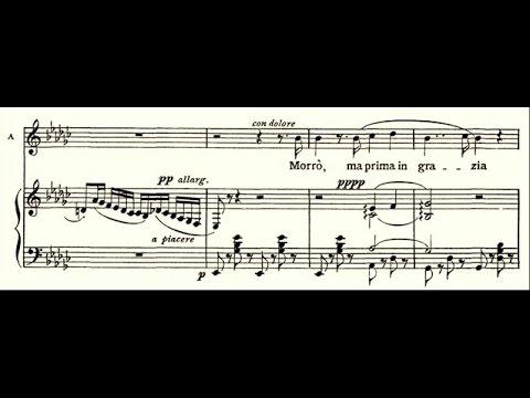 """Toscanini sings """"Morrò, ma prima in grazia"""" / Eugenia Burzio vs Toscanini"""