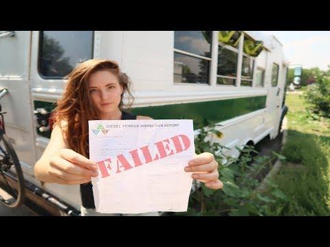 FAILED EMISSIONS TEST? Real Life #BusLife