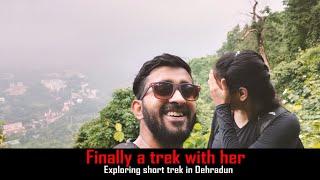 Exploring Most beautiful Trek in Dehradun | Trying to Speak Garhwali | Dancing on Garhwali song |