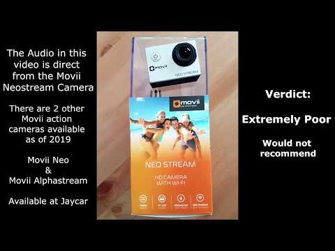 Movii Neostream action camera review