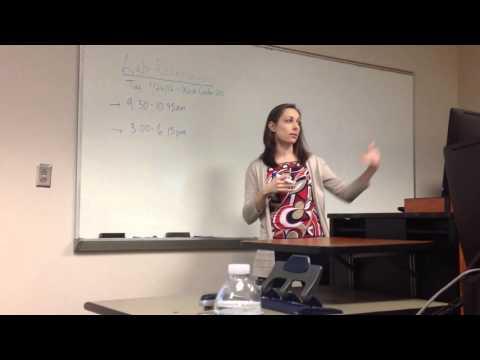 Winthrop University Library Journal Database Training
