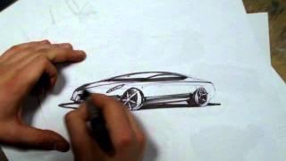 Fast Car Drawing -  Szybkie Rysowanie samochodów