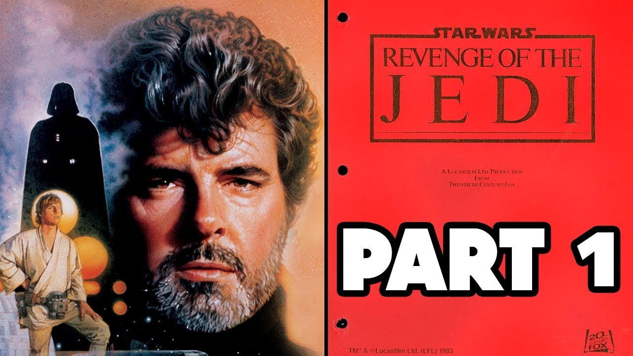 George Lucas Original Script Return Of The Jedi Part 1 Youtube