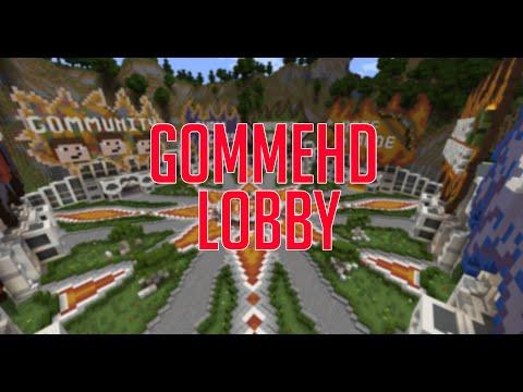 Minecraft GommeHD Lobby Map Download - Minecraft server erstellen wie gommehd
