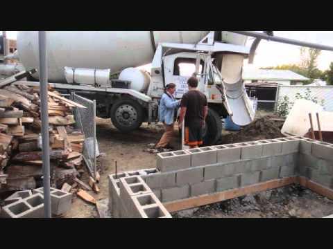 Koi pond build 4000 gallons youtube for Koi pond gallons